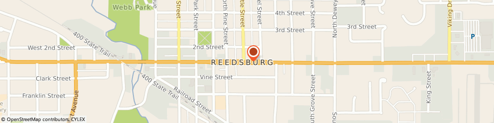 Route/map/directions to Modern Woodmen Of America, 53959 Reedsburg, 617 EAST MAIN STREET