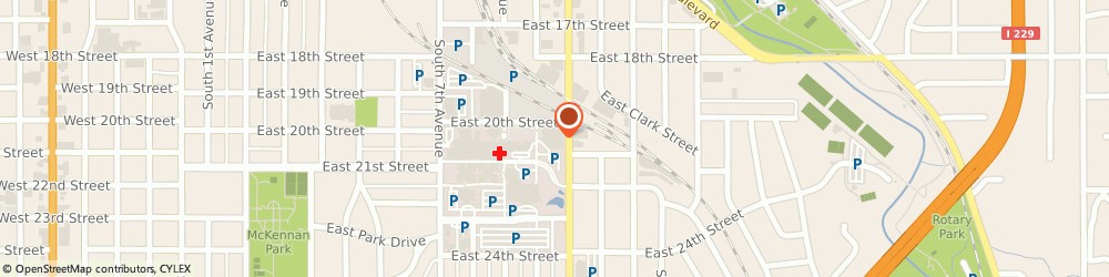 Route/map/directions to Avera Specialty Pharmacy, 57105 Sioux Falls, 1301 S Cliff Avenue
