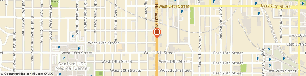 Route/map/directions to Azteca Family Mexican Restaurant, 57104 Sioux Falls, 811 S Minnesota Ave