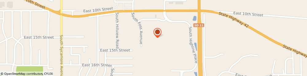 Route/map/directions to Subway, 57103 Sioux Falls, 5521 Arrowhead Parkway