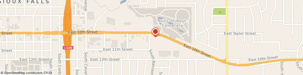 Route/map/directions to Giliberto's Mexican Taco Shop, 57103 Sioux Falls, 3603 East 10th Street