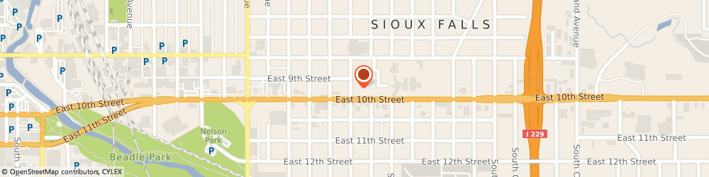 Route/map/directions to Taco John's, 57103 Sioux Falls, 1704 E 10th St