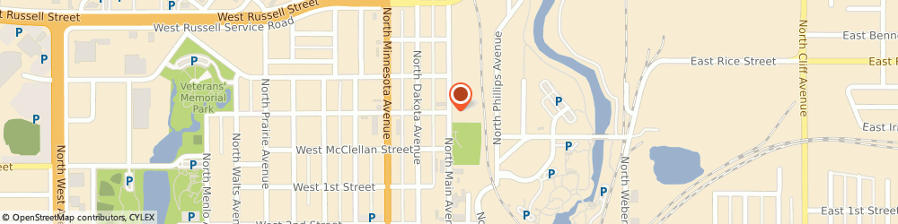 Route/map/directions to Bread & Circus Sandwich Kitchen, 57104 Sioux Falls, 600 N Main Ave