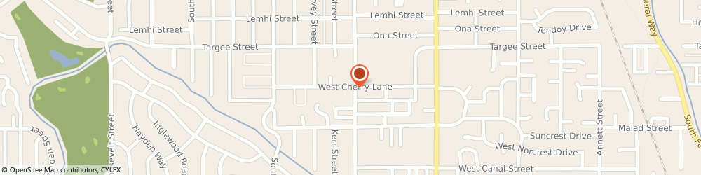Route/map/directions to The Church Of Jesus Christ Of Latter-Day Saints - Boise, Boise Idaho South Stake, Wards, 83705 Boise, 3020 CHERRY LANE