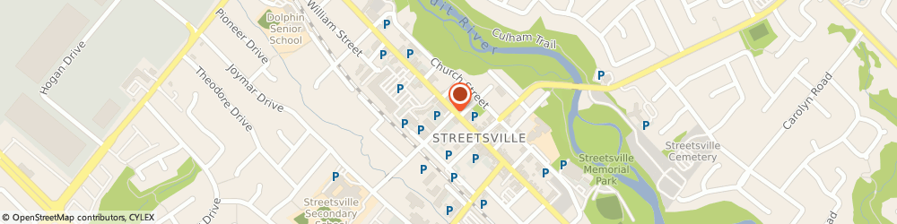 Route/map/directions to TD Canada Trust Branch and ATM, L5M 1K8 Streetsville, 168 Queen Street S