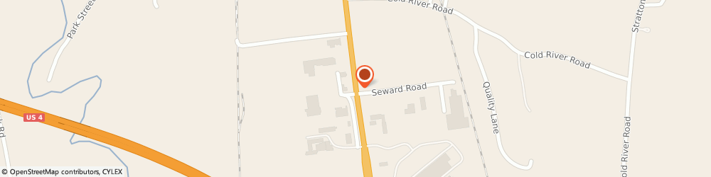Route/map/directions to Maytag Retailer, 05701 Rutland, 299 Us Route 4 East