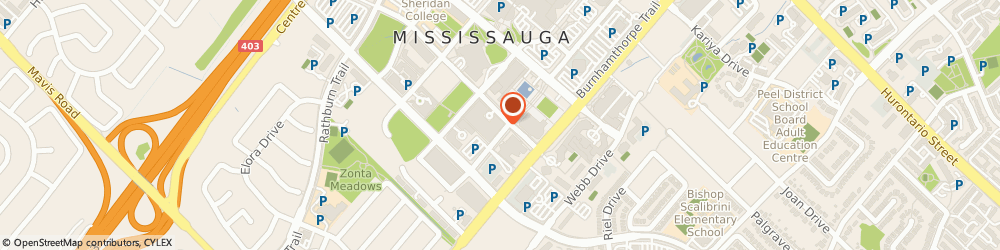Route/map/directions to RBC Royal Bank of Canada ATM, L5B 4N3 Mississauga, 4070 Living Arts Dr