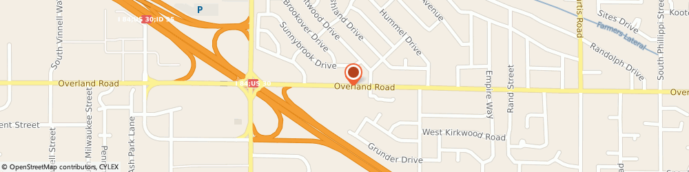 Route/map/directions to Overland Ace Hardware, 83709 Boise, 6969 W OVERLAND RD