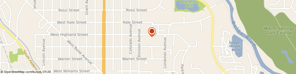 Route/map/directions to Advanced Sign and Design, 83706 Boise, 511 W Highland St