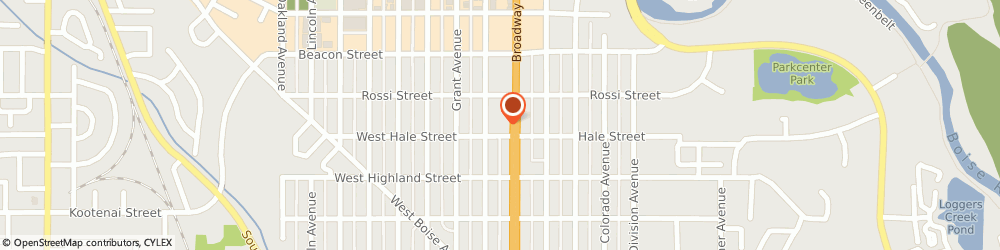 Route/map/directions to McDonald's, 83706 Boise, 1375 South Broadway Avenue