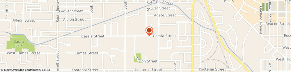 Route/map/directions to The Church Of Jesus Christ Of Latter-Day Saints - Boise, Boise Idaho South Stake, 83705 Boise, 3200 CASSIA STREET