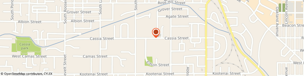 Route/map/directions to The Church Of Jesus Christ Of Latter-Day Saints - Boise, Boise Idaho South Stake, Wards, 83705 Boise, 3200 CASSIA STREET