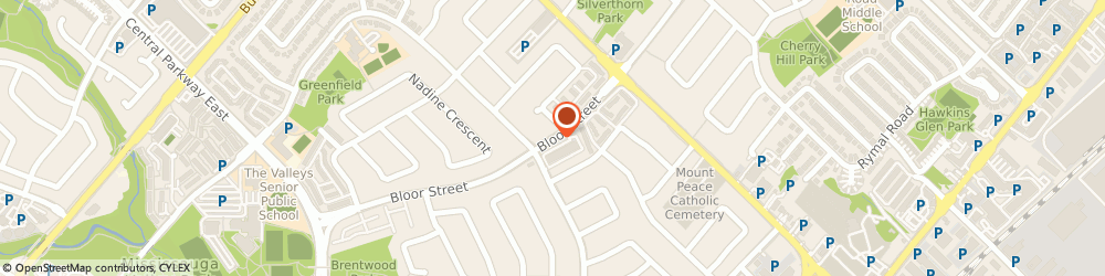 Route/map/directions to Preferito Catering, L5A 3V9 Mississauga, 640 Bloor St
