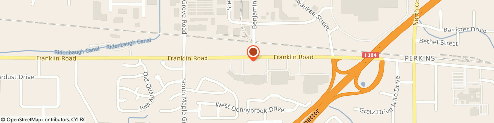 Route/map/directions to McDonald's, 83709 Boise, 8571 W Franklin Rd