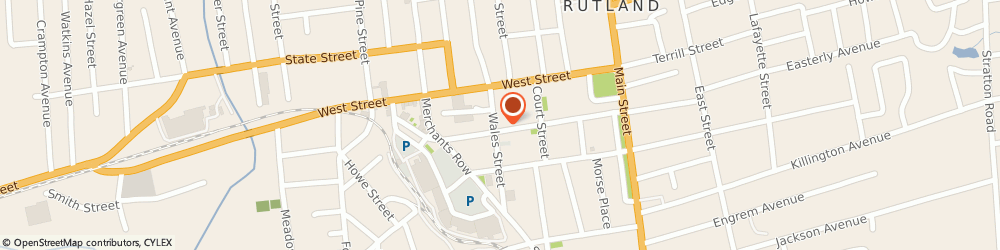 Route/map/directions to Unlimited Images, 05701 Rutland, 65 CENTER STREET
