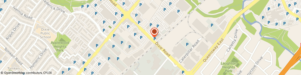 Route/map/directions to Kar Auto Parts, L4Y 2A1 Mississauga, 2465 Dixie Rd
