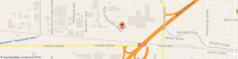 Route/map/directions to Jack in The Box, 83704 Boise, 205 NORTH MILWAUKEE STREET