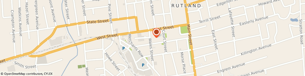 Route/map/directions to Domino's Pizza, 05701-4042 Rutland, 24 Wales St