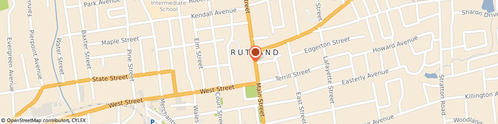 Route/map/directions to Burger King, 05701 Rutland, 2729 North Main St