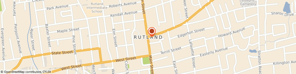 Route/map/directions to Shoe Department, 05701 Rutland, ROUTE 7 # 650