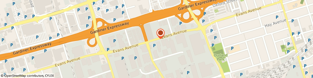 Route/map/directions to Sportsphere Inc., M8Z 1J5 Etobicoke, 221 Evans Ave