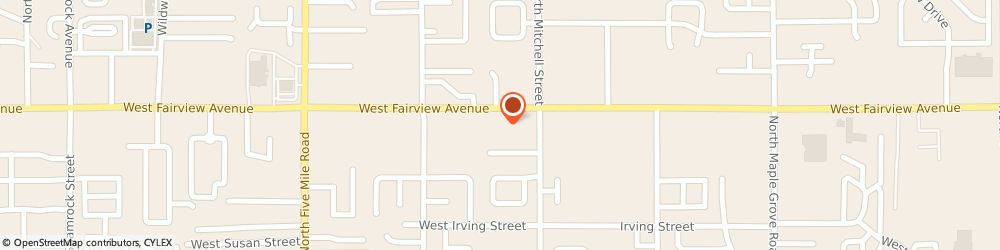 Route/map/directions to Tint World, 83704-8113 Boise, 9911 W FAIRVIEW AVE