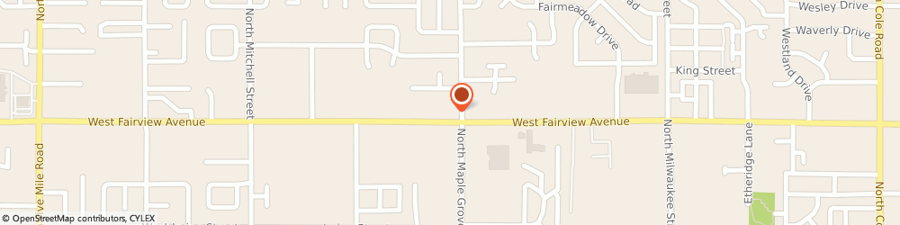 Route/map/directions to Jack in the Box, 83704 Boise, 9052 W Fairview Ave