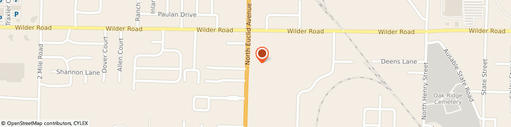 Route/map/directions to Batteries Plus Bulbs, 48706 Bay City, 4041 N Euclid Ave