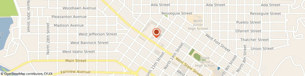 Route/map/directions to Navy Federal Credit Union, 83702 Boise, 1688 West State Street