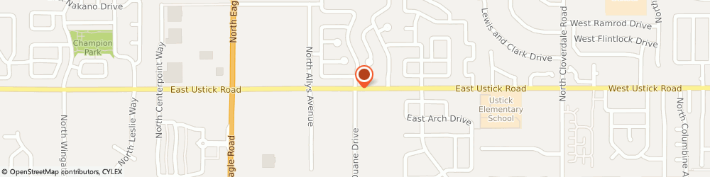 Route/map/directions to The Church Of Jesus Christ Of Latter-Day Saints - Nampa-Caldwell-Meridian, Meridian Idaho Stake, 83702 Boise, DUANE & USTICK ROAD