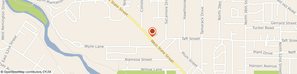 Route/map/directions to Ace Hardware, 83703 Boise, 4705 WEST STATE STREET