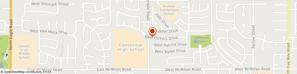 Route/map/directions to The Church Of Jesus Christ Of Latter-Day Saints - Seminaries, Centennial, 83713 Boise, 5105 NORTH CLOVERDALE ROAD