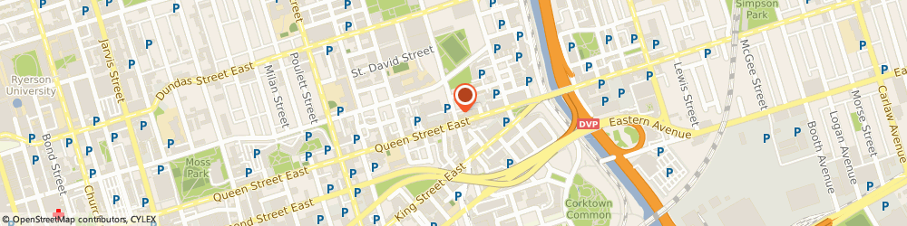 Route/map/directions to 5 Shades Media Inc., M5A 1V1 Toronto, 90 Sumach St