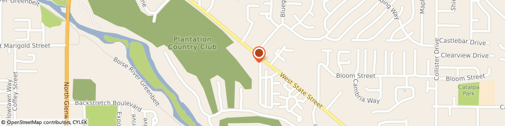 Route/map/directions to Chirostrategy Chiropractic, 83703 Boise, 5983 WEST STATE STREET