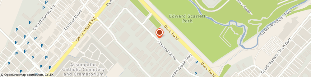 Route/map/directions to A & m. Heating & Air Cond. Ltd., L5T 2G5 Mississauga, 6790 Davand Drive Unit # 12