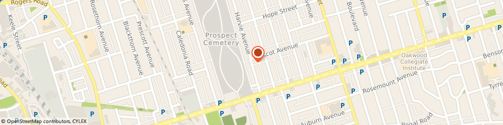 Route/map/directions to Aqua Ease Sprinkler Systems, M6E 4K2 Toronto, 53 Harvie Avenue