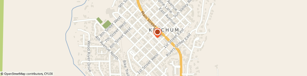 Route/map/directions to Atm Great Western Bank, 83340 Ketchum, 291 Washington Avenue