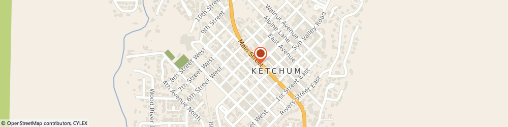 Route/map/directions to Wells Fargo Bank, 83340 Ketchum, 411 N Main St