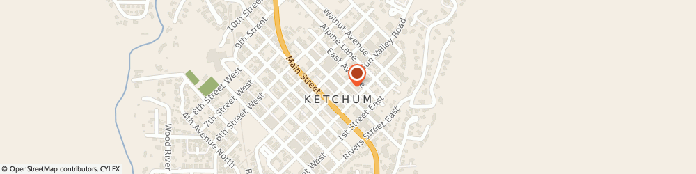 Route/map/directions to Navy Federal Credit Union, 83340 Ketchum, 680 Sun Valley Rd