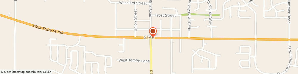 Route/map/directions to ANYTIME FITNESS Star, 83669 Star, 11221 W Hercules Dr #105