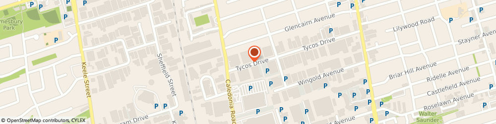 Route/map/directions to Lorellana Couture Inc., M9L-0A3 North York, 1 High Meadow Place, Unit #18