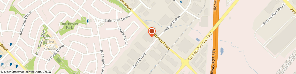 Route/map/directions to U-Haul Moving & Storage of Bramalea, L6T 1C1 Brampton, 152 East Dr
