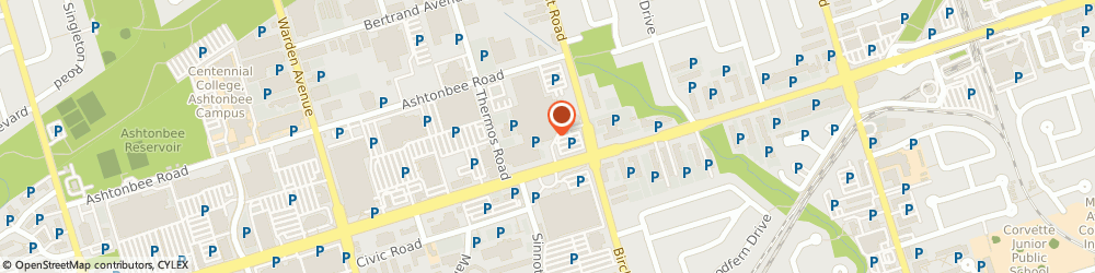 Route/map/directions to Canadian General Capital, M1L 4S8 Scarborough, 2206 EGLINTON AVE E APT 1