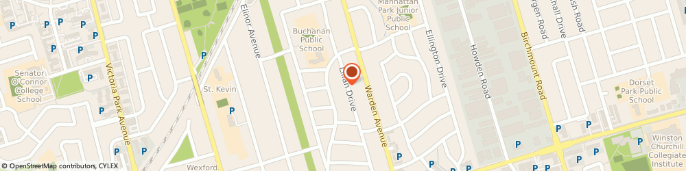 Route/map/directions to Luxury Flooring Inc, M1R 3W5 Scarborough, 94 Lilian Drive