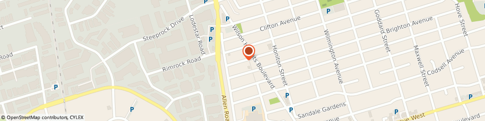 Route/map/directions to Salvation Army, M3H 4J3 North York, 264 ACTON AVE