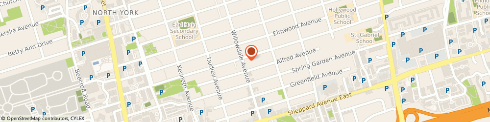 Route/map/directions to Mohamad Agah - Re/Max, M2N 4Y9 North York, 183 Willowdale Ave