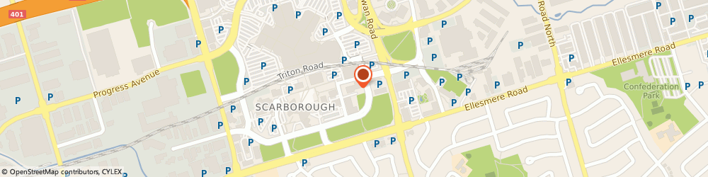 Route/map/directions to Adecco GTA East, M1P 4X4 Scarborough, 55 Town Centre Court