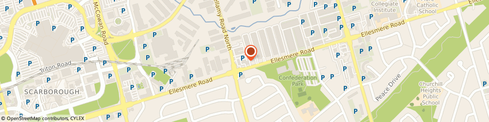 Route/map/directions to Network Cleaners, M1H 2V6 Scarborough, 1920 Ellesmere Rd