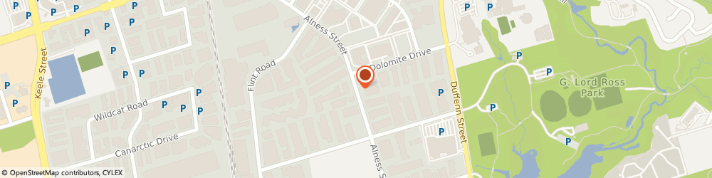 Route/map/directions to Direct Locksmith, M3J 2X4 North York, 877 Alness St