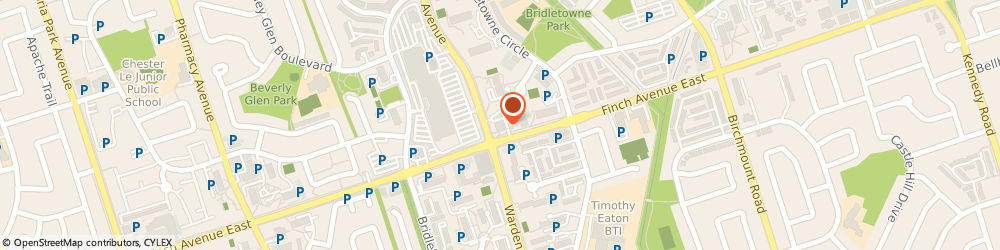 Route/map/directions to CIBC, M1W 2R6 Scarborough, 3420 Finch Avenue East